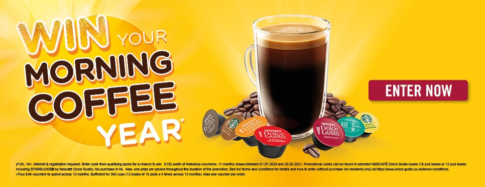 Win Your Morning Coffee for a Year
