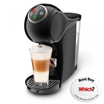 Genio S Plus Black by DE'LONGHI® Coffee Machine