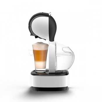 Lumio Automatic White Coffee Machine by Krups