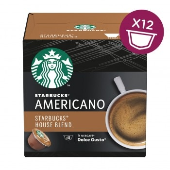 STARBUCKS Americano House Blend Medium Roast