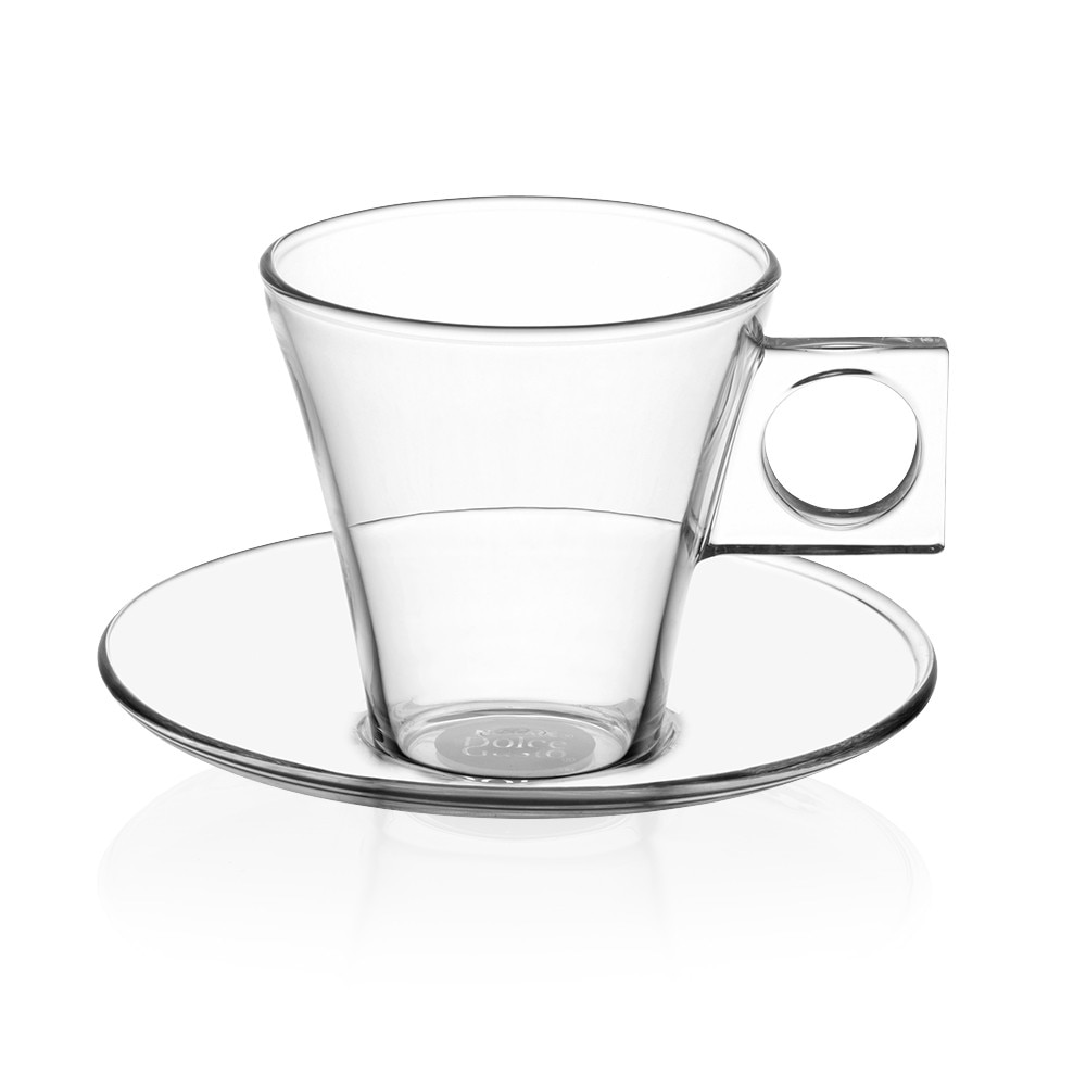 Glass espresso coffee cups uk - Espresso Glass Set