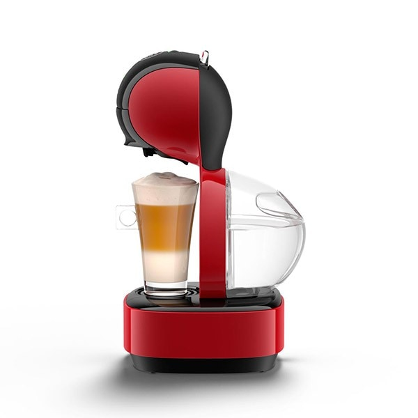 lumio red automatic coffee machine nescaf dolce gusto. Black Bedroom Furniture Sets. Home Design Ideas