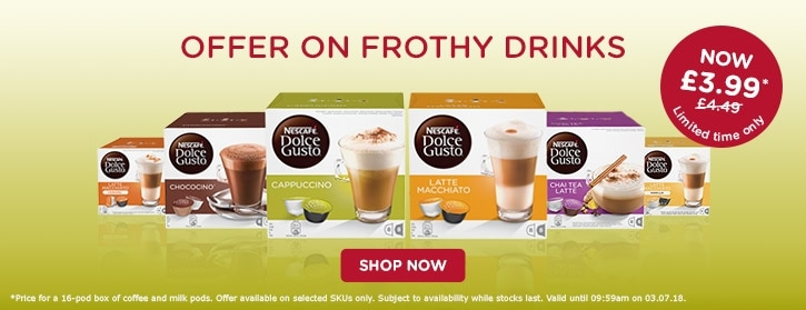 Frothy Coffee Promotion