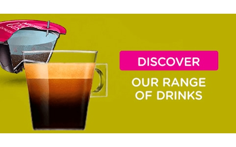 Discover our range of drinks