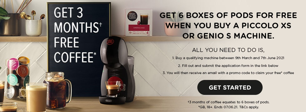 Get 3 Months Free Coffee