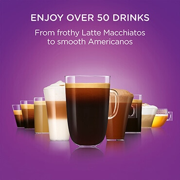 Enjoy over 50 drinks