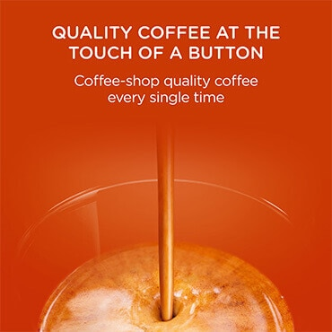 Quality coffee at the touch of a button