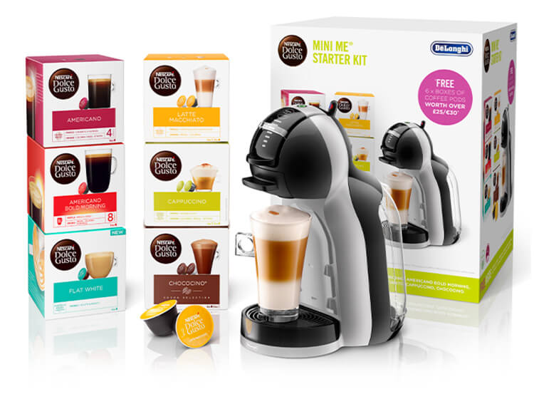 Mini Me® Starter Kit White/Black by Delonghi®