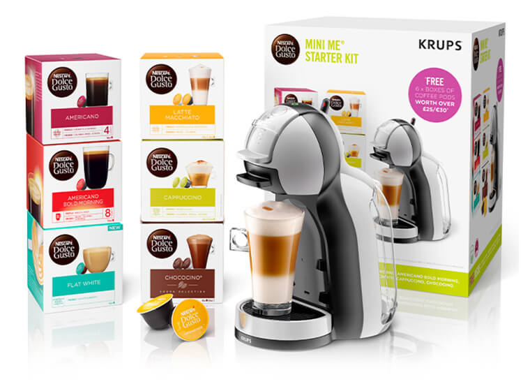 Mini Me® Starter Kit Grey/Black by Krups®