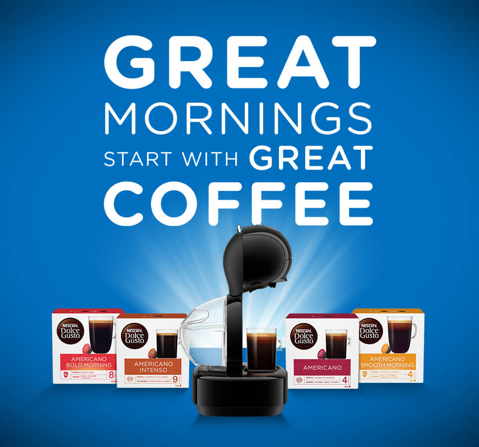 Upgrade your Morning with Nescafe