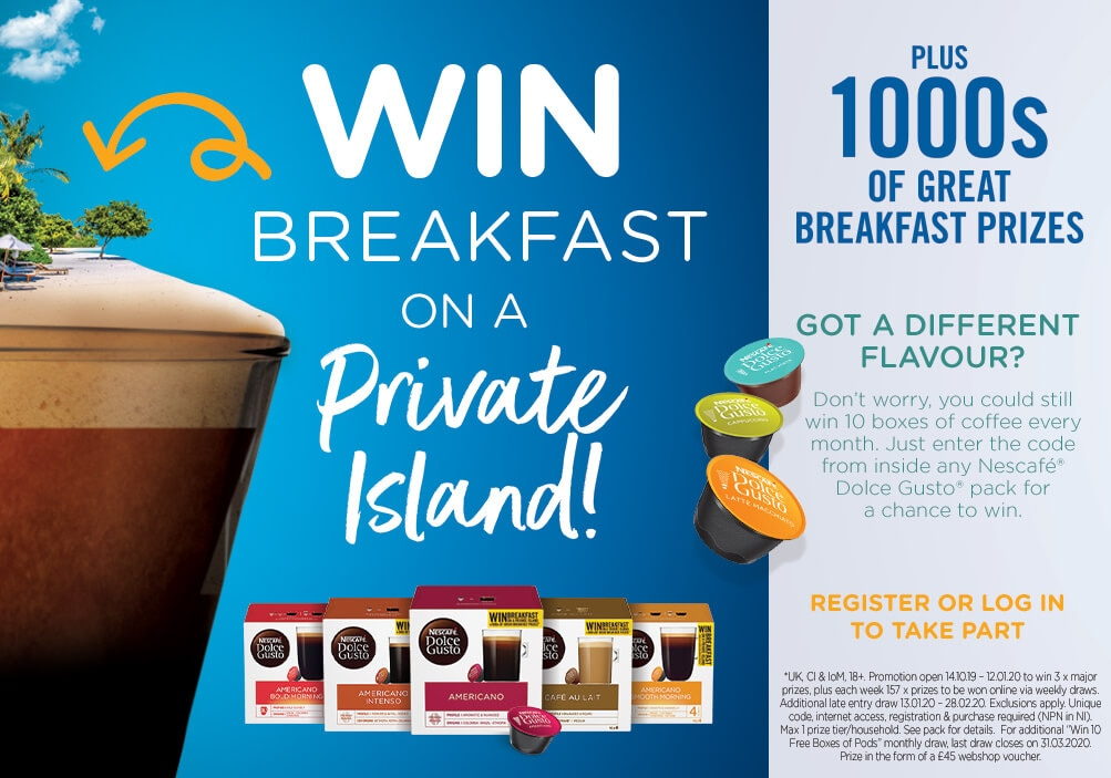WIN Breakfast on a Private Island!